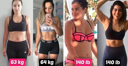 14 Antes y después que demuestran que el peso no significa nada