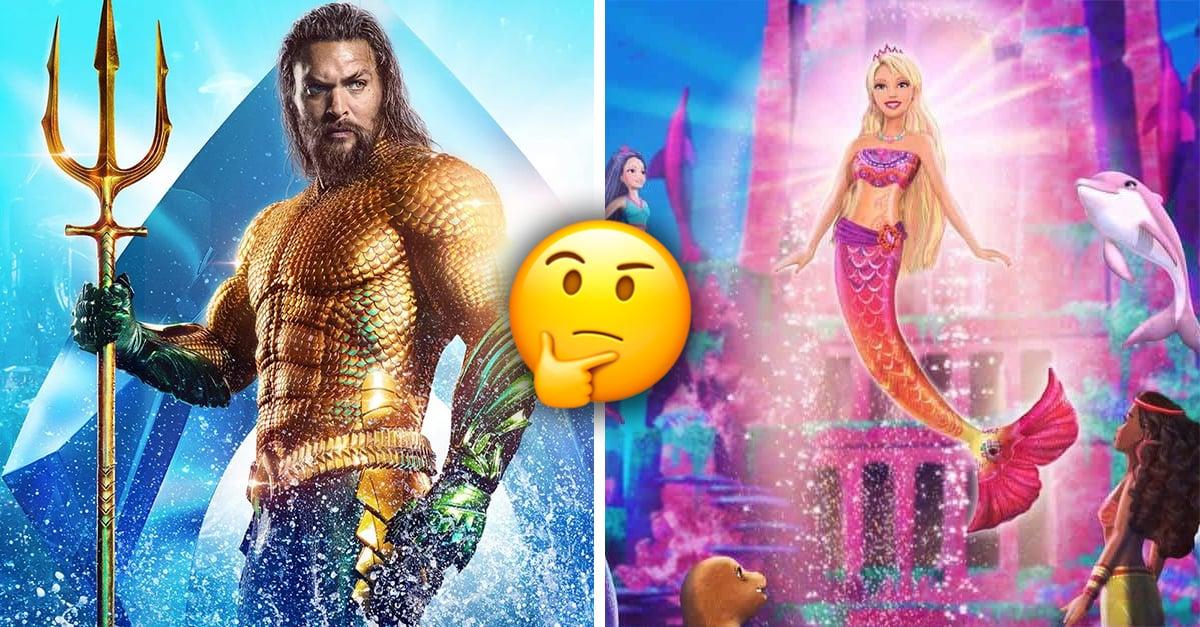 7 pruebas de que 'Aquaman' y 'Barbie en una aventura de sirenas' son la misma película