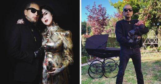 Ya nació el bebé de Kat Von D ¡y es tan darks como su mamá!