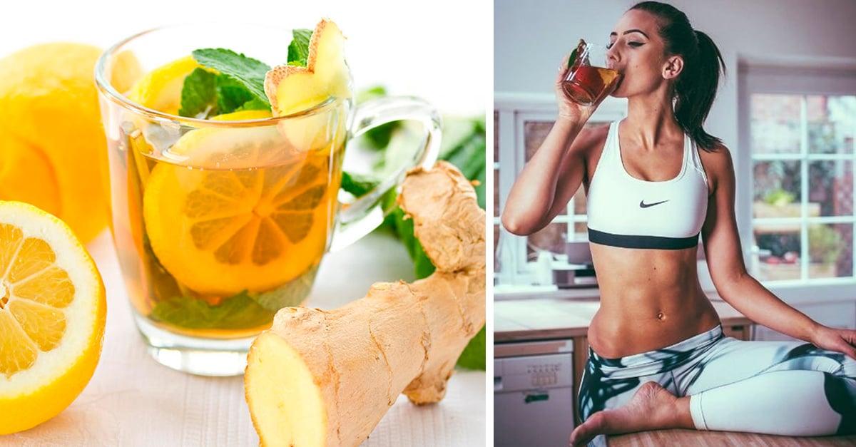 7 Deliciosas bebidas con jengibre para tener un vientre plano