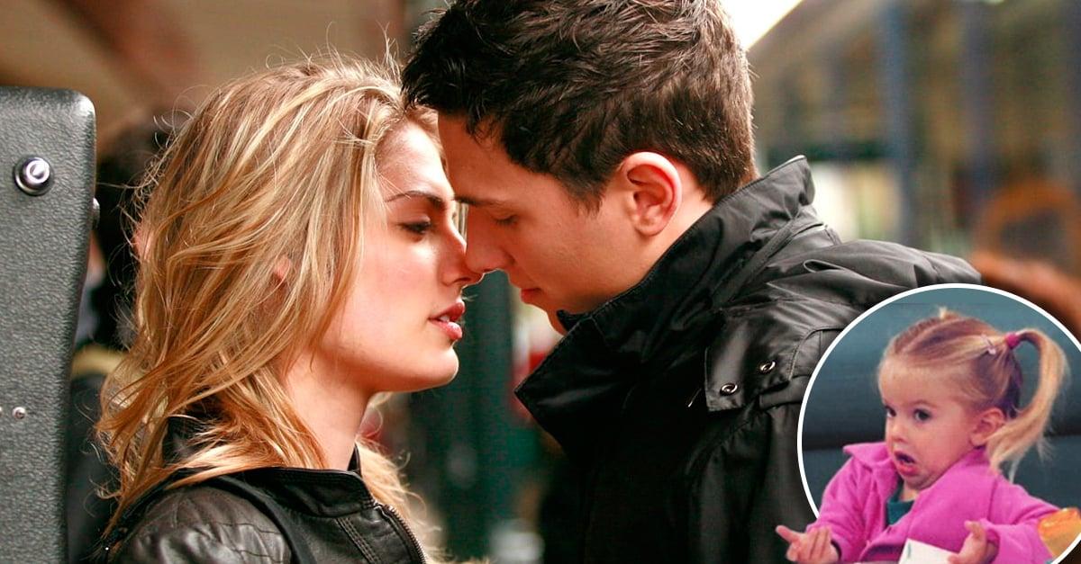 Según los hombres besar a otra mujer no cuenta como infidelidad