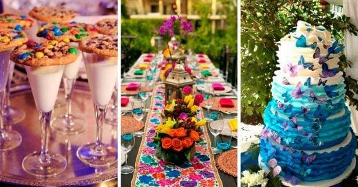15 Ideas de decoración para tu fiesta de XV años