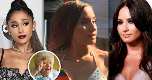 Chica que se parece a Ariana Grande y Demi Lovato tiene a Internet en shock