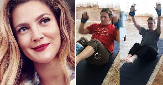 Drew Barrymore bajó 11 kilos y envió este poderoso mensaje a Internet