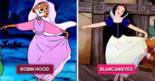 13 Escenas que se repitieron en más de una película de Disney