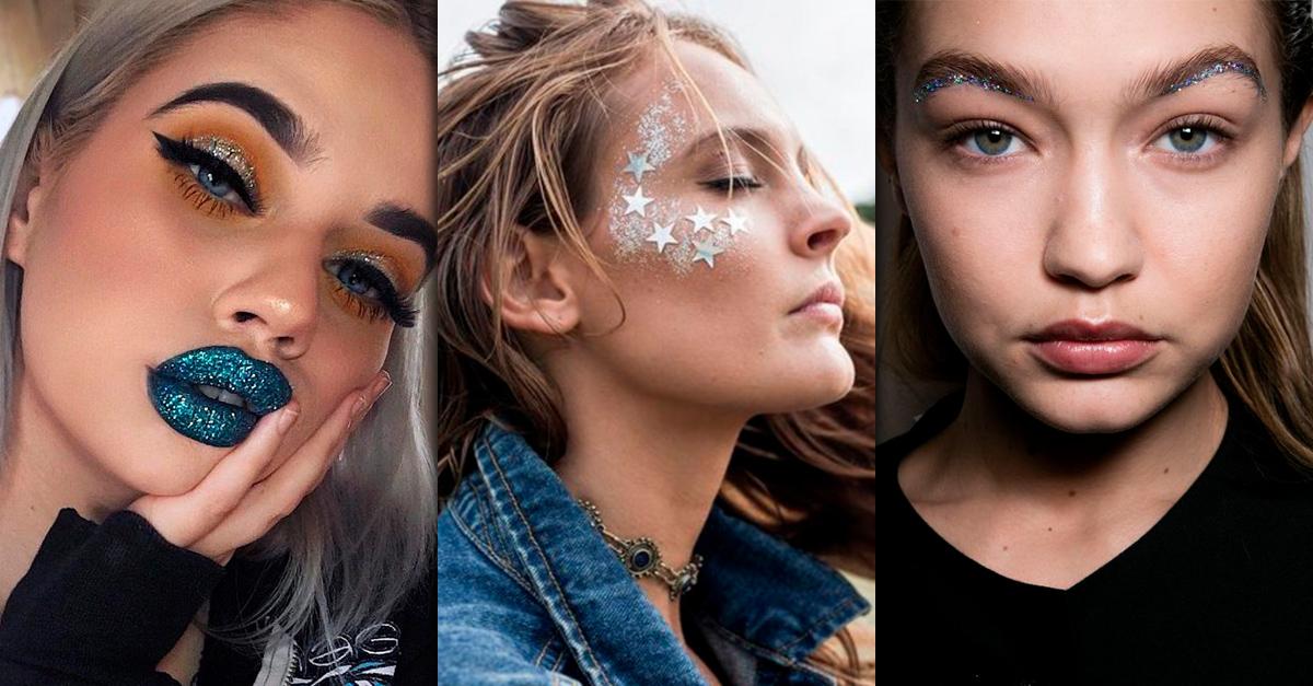 Cómo utilizar 'glitter' en tu maquillaje y no fracasar en el intento