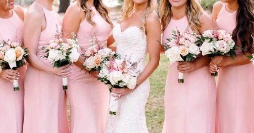 Hizo engordar a sus damas de honor antes de su boda para ser la más linda