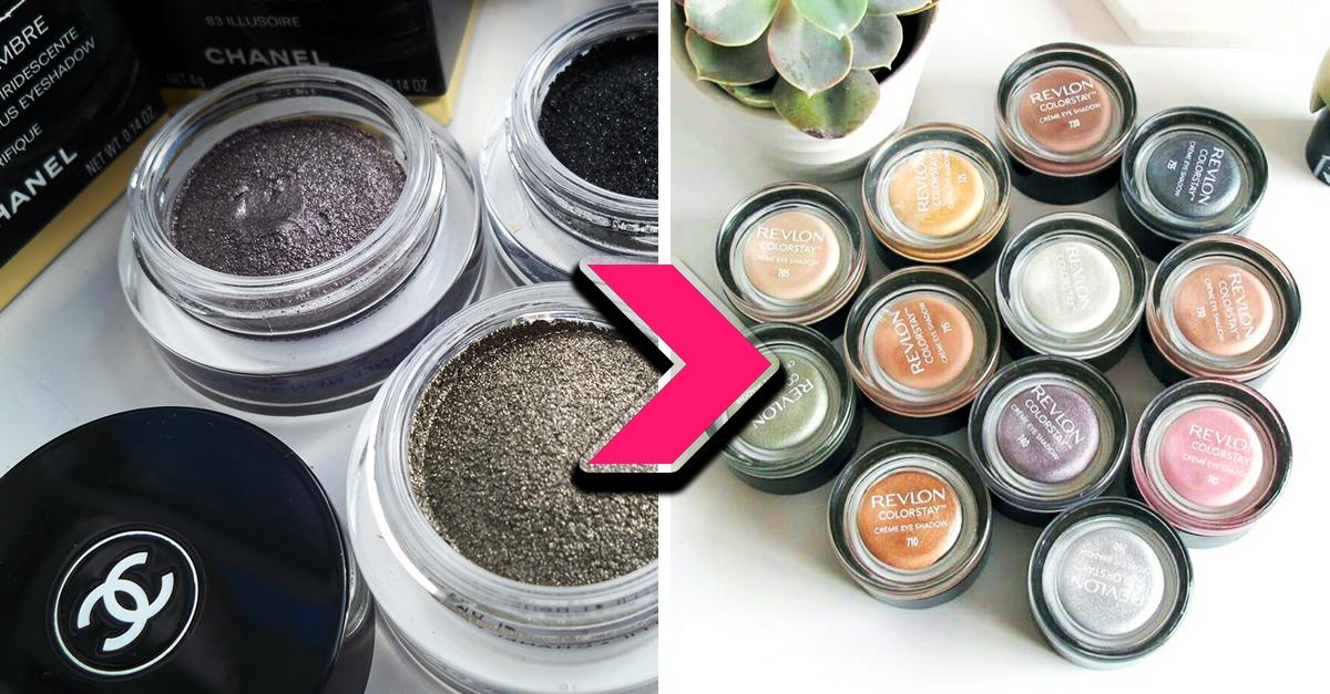13 Versiones de maquillaje caro que puedes encontrar por un menor precio
