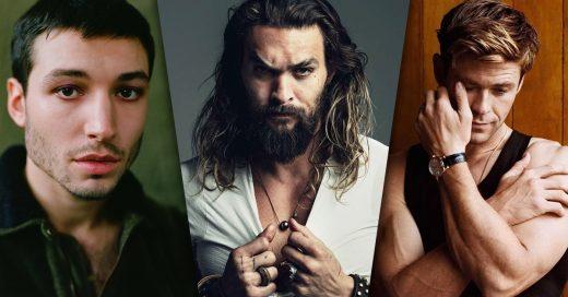 Según Internet ellos son los 15 famosos más guapos del 2018