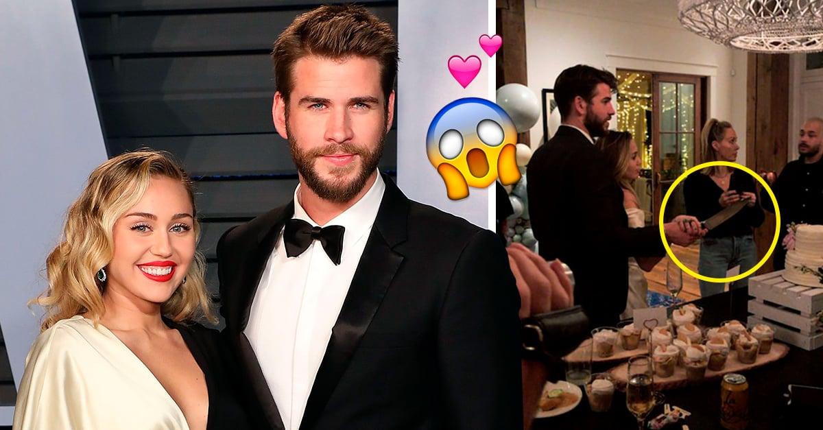 ¡Detengan todo! Liam y Miley se casaron este fin de semana