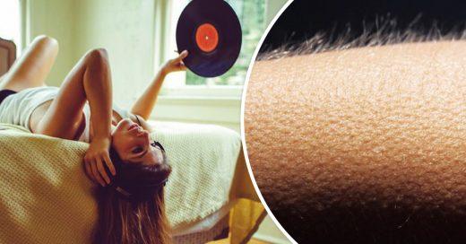 Estudio revela: si tu piel se eriza esuchando música, ¡tu cerebro es especial!