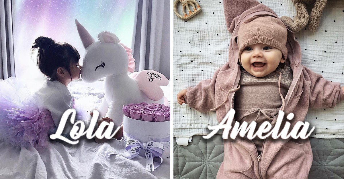16 Nombres para niña que serán tendencia en 2019; toma nota y vota tu favorito