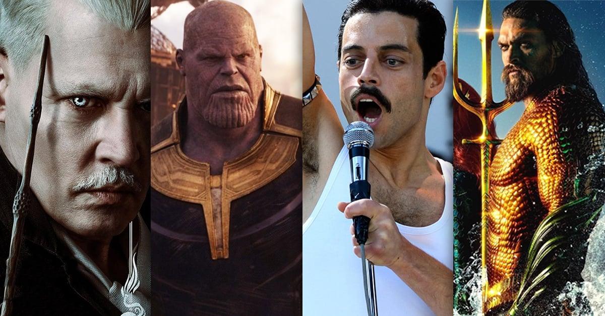 15 Películas más taquilleras del 2018