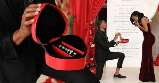 Le propuso matrimonio con 6 anillos, ¡porque no sabía cuál le gustaría más!