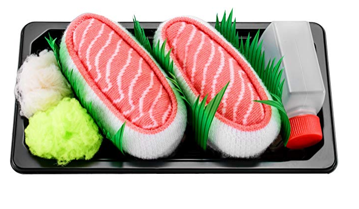 set de calcetas de sushi