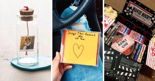 19 Regalos para demostrarle tu amor a tu novio en su aniversario