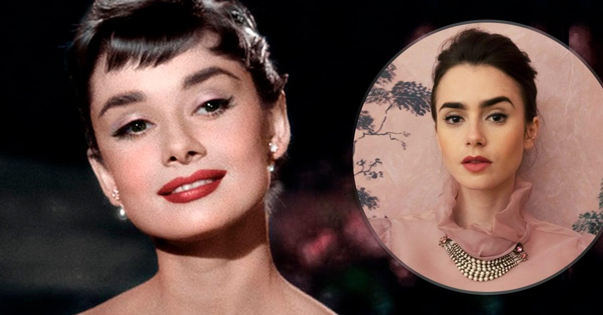 Preparan bioserie de Audrey Hepburn; ¡Internet propone a Lily Collins de protagonista!