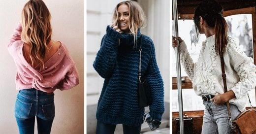 14 Lindos suéteres que si o sí deberían estar en tu armario