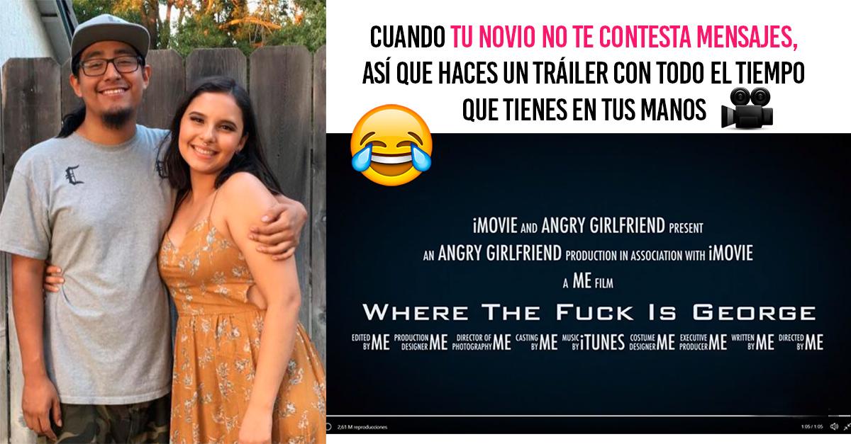 Su novio no contestaba los mensajes; ella edita un video sobre su búsqueda y se hace viral