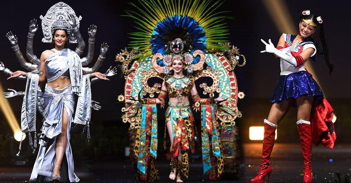 Los 15 trajes típicos más creativos y originales de Miss Universo 2018