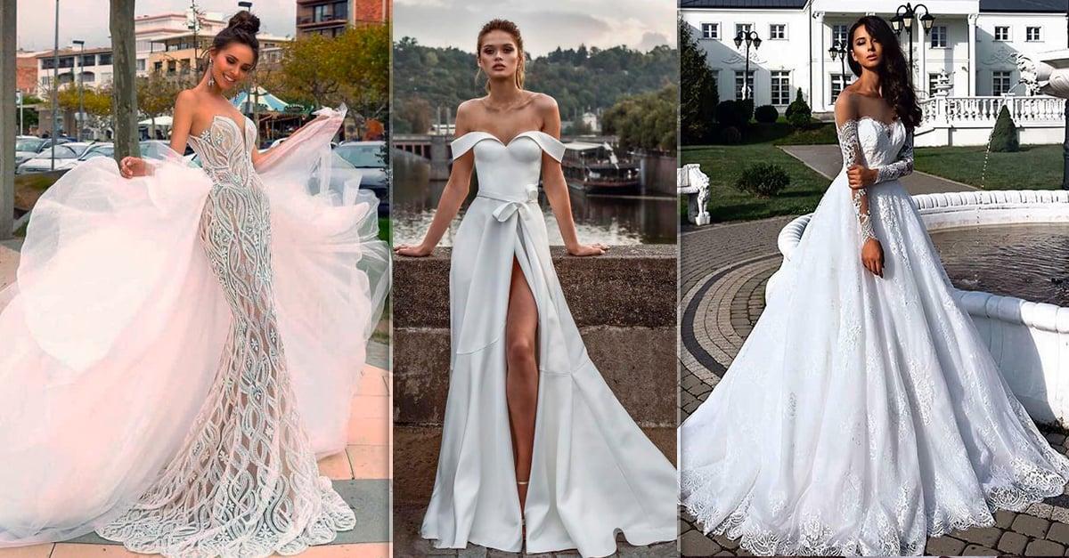 15 Vestidos de novia que te inspirarán a elegir el tuyo