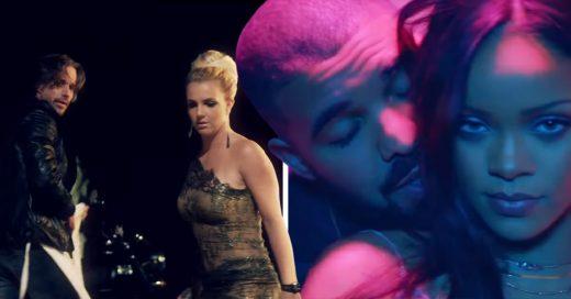 12 Videoclips protagonizados por las exparejas de famosos; seguro hoy ambos se arrepienten