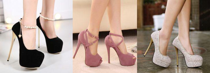 Zapatos que se consideran atractivos