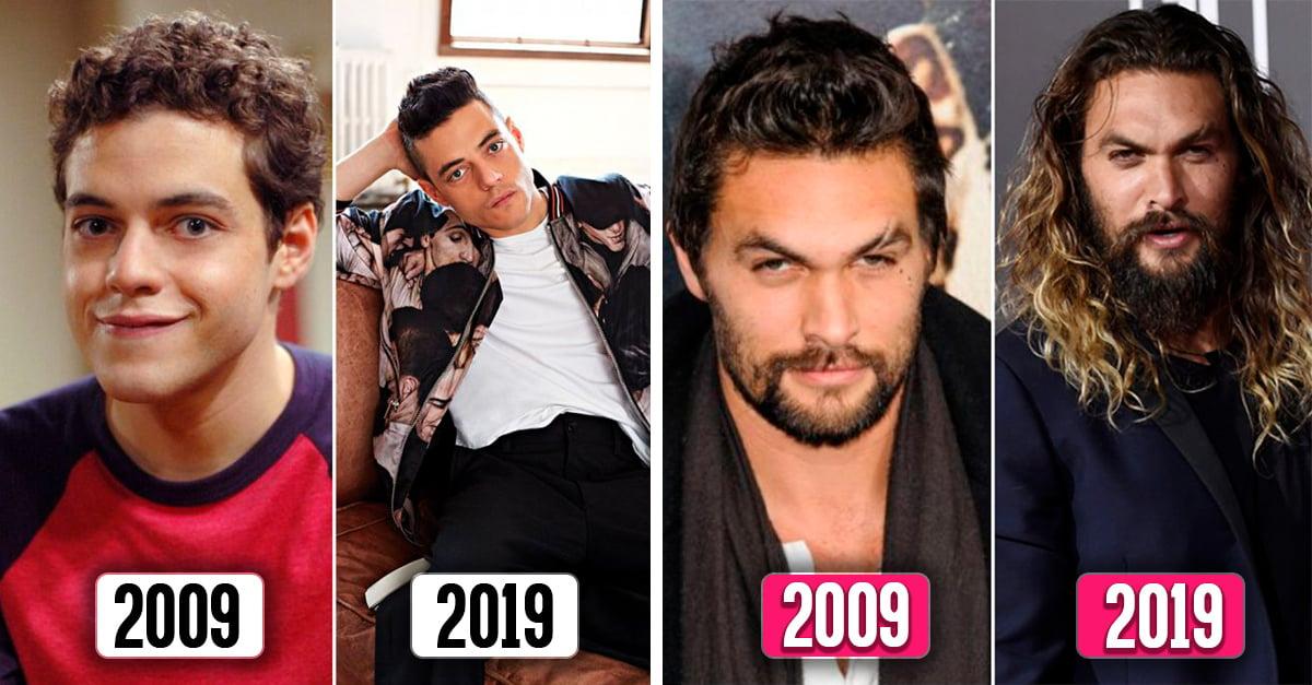 Así de atractivos se ve estos 20 famosos; los años solo les suman galantería