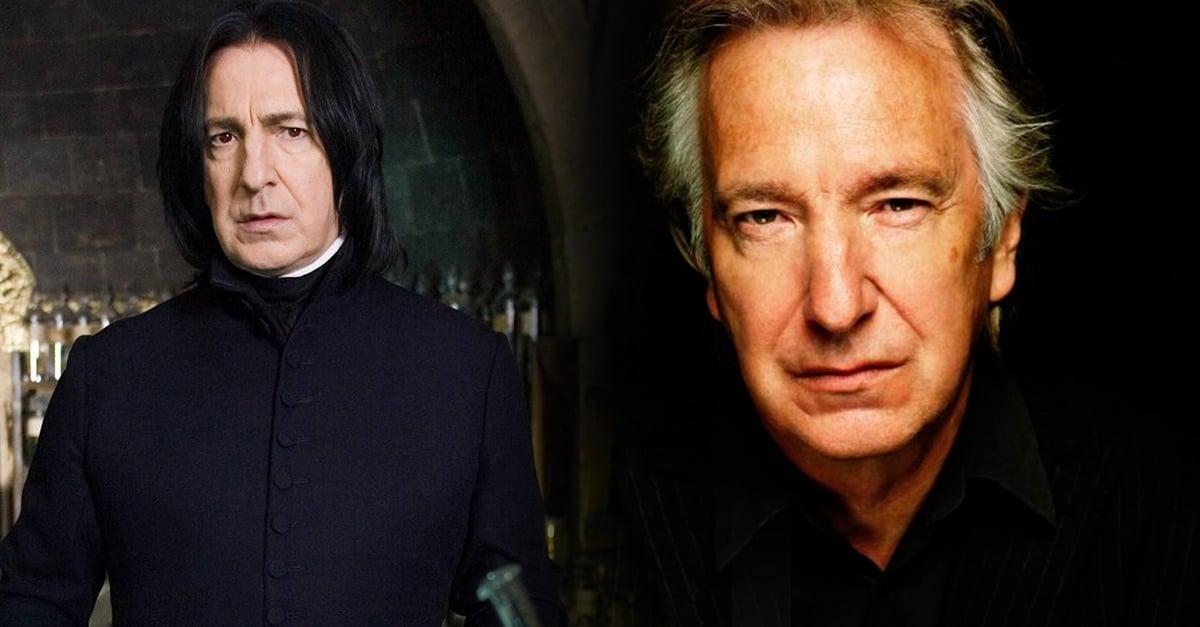 La conmovedora carta con la que Alan Rickman dijo adiós a Severus Snape y a Harry Potter