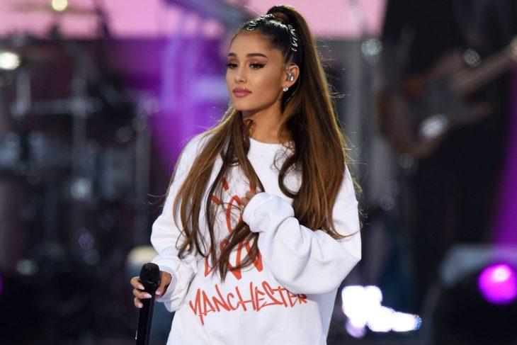 Ariana Grande en el concierto unidos por manchester después del atentado