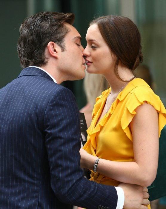 Blair Waldorf y Chuck Bass de la serie Gossip girl, frases de amor