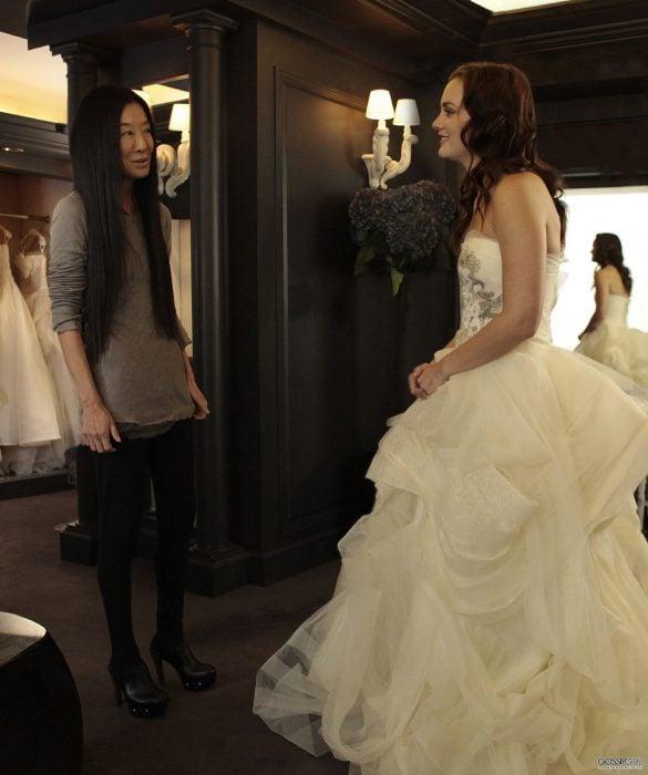 Vera Wang, celebridades que salieron en Gossip Girl