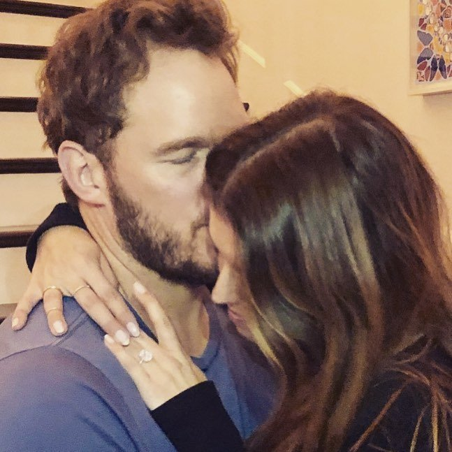 Chris pratt comprometido nueva novia