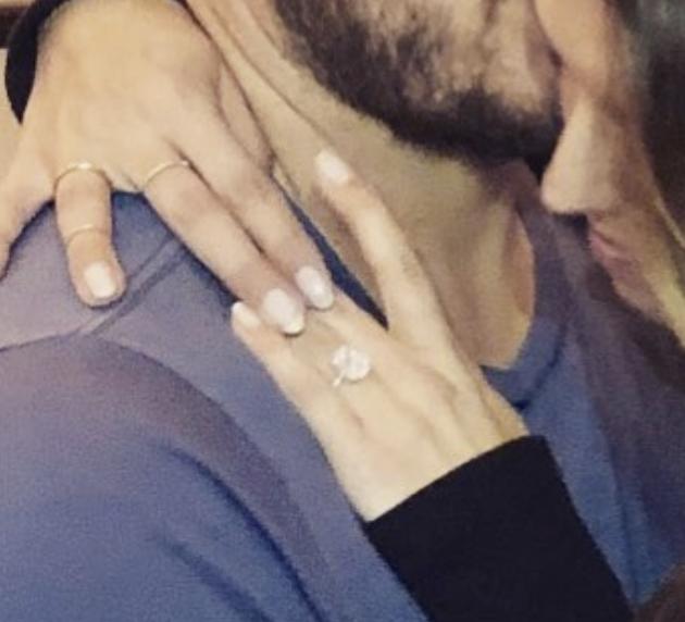 Anillo de compromiso de la novia de Chris pratt