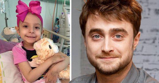 Niña cumple su sueño gracias al actor Daniel Radcliffe