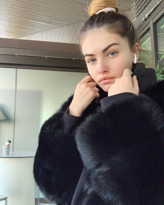 Thylane Blondeau elegida como el rostro más bello del mundo, mujer rubia de ojos azules
