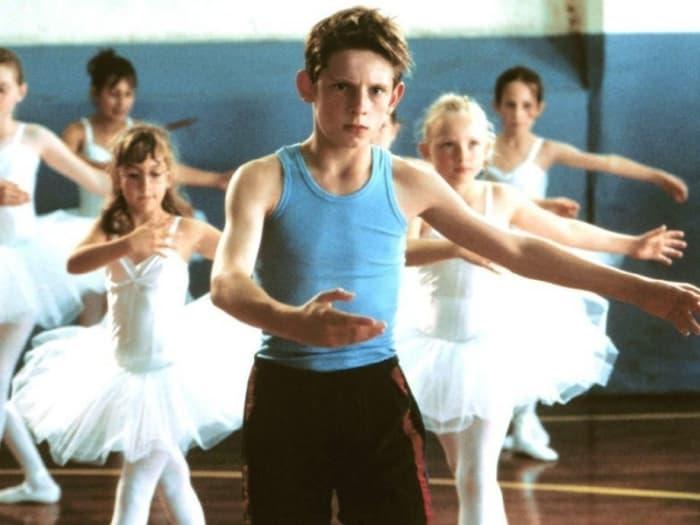 niño bailando ballet clásico