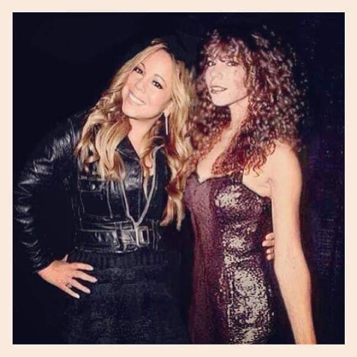 Photoshop de famosos antes y después, Mariah Carey