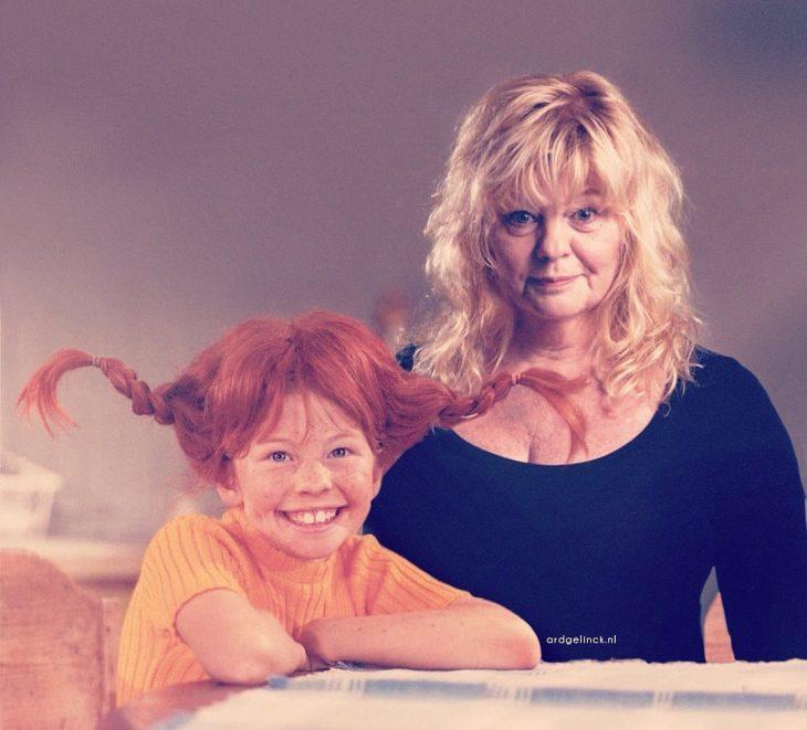 Photoshop de famosos antes y después, Inger Nilsson