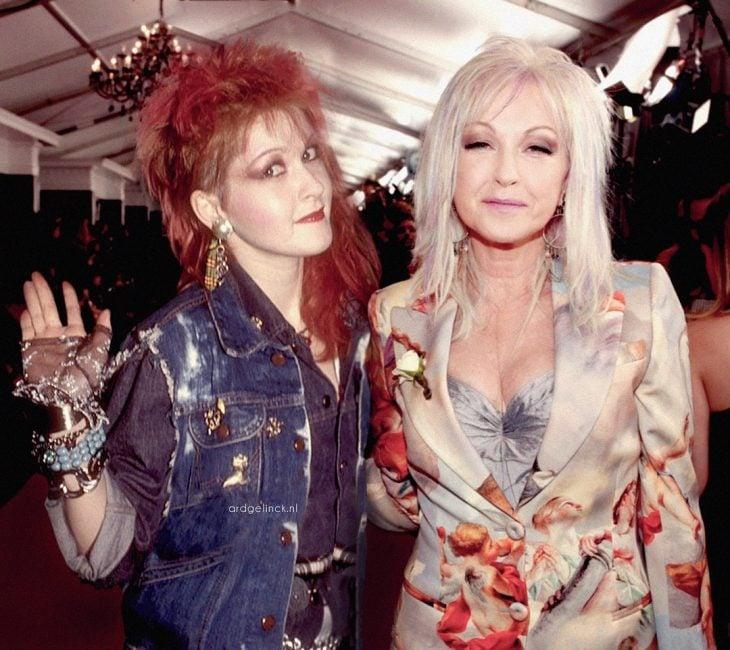 Photoshop de famosos antes y después, Cyndi Lauper