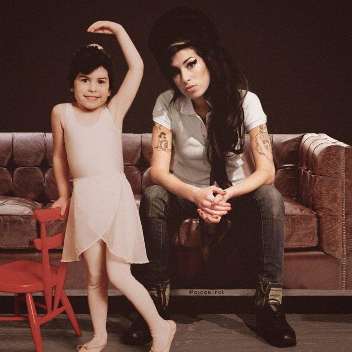 Photoshop de famosos antes y después, Amy Winehouse
