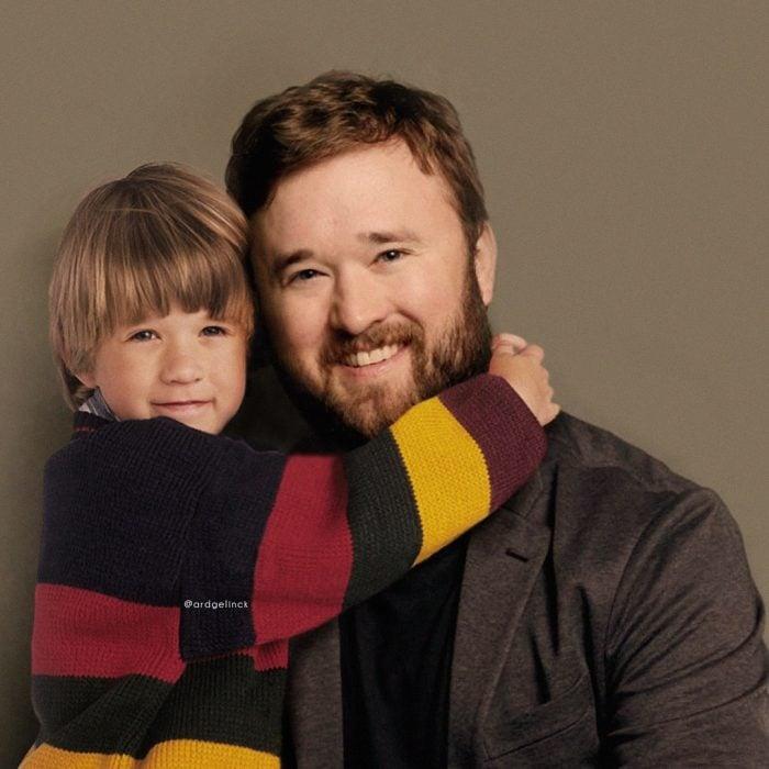 Photoshop de famosos antes y después, Haley Joel Osment