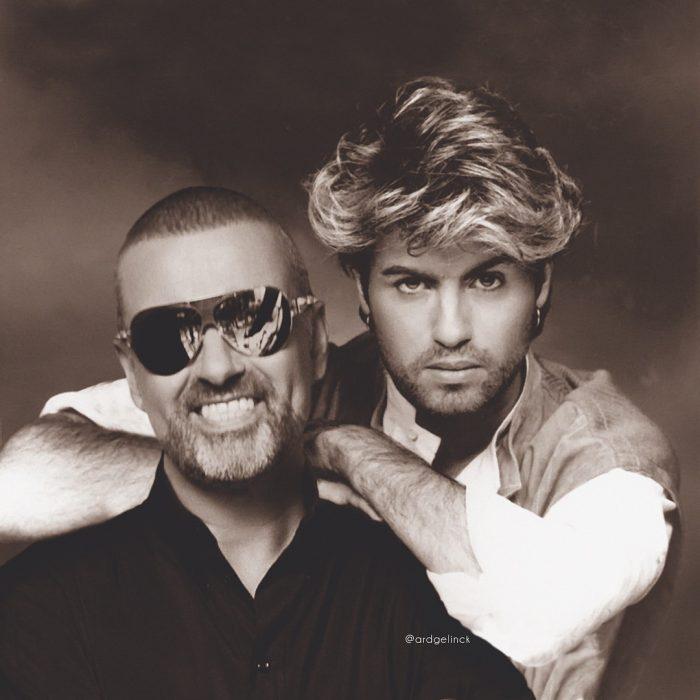 Photoshop de famosos antes y después, George Michael