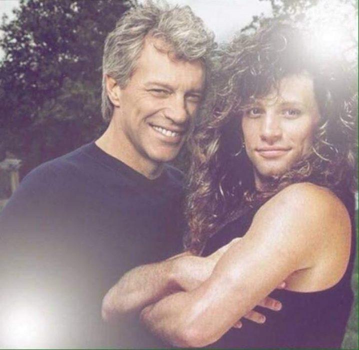 Photoshop de famosos antes y después, Bon Jovi