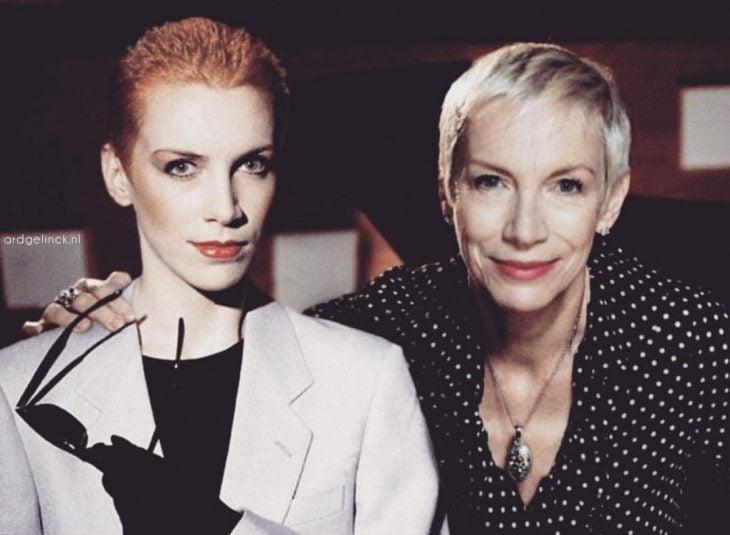 Photoshop de famosos antes y después, Annie Lennox