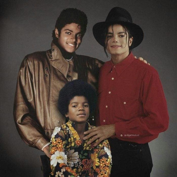 Photoshop de famosos antes y después, Michael Jackson