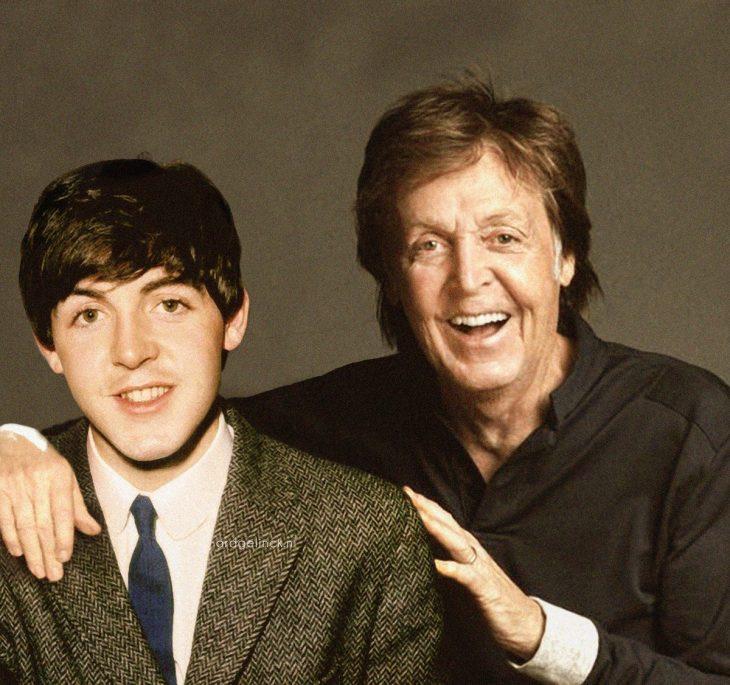 Photoshop de famosos antes y después, Paul McCartney