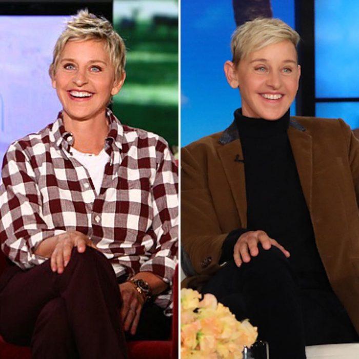 Ellen DeGeneres en el 10 years challenge