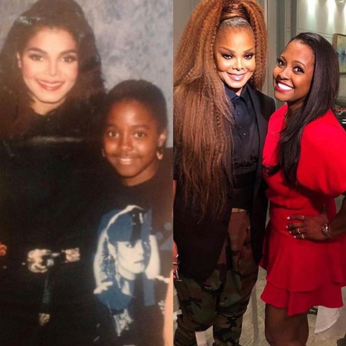 Janet Jackson en el 10 years challenge