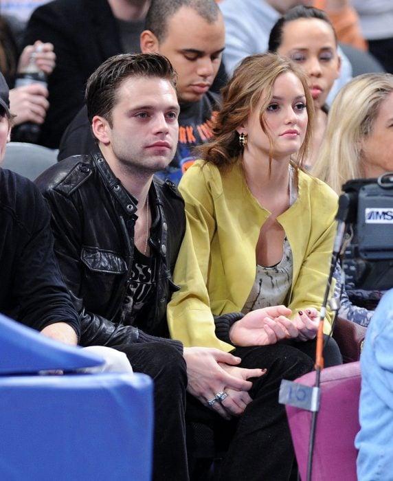 Sebastian Stan y Leighton Meester de la serie Gossip Girl fueron novios por dos años